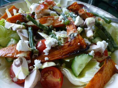 G salad w local roast sweet potato -2