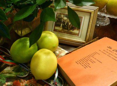 Lemons,pic NG + bros + L a cucian cookbook