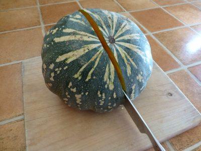 Pumpkin - cutting