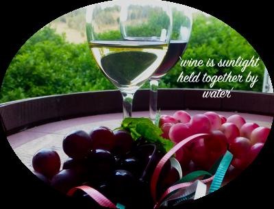 wine is sunlight... colour